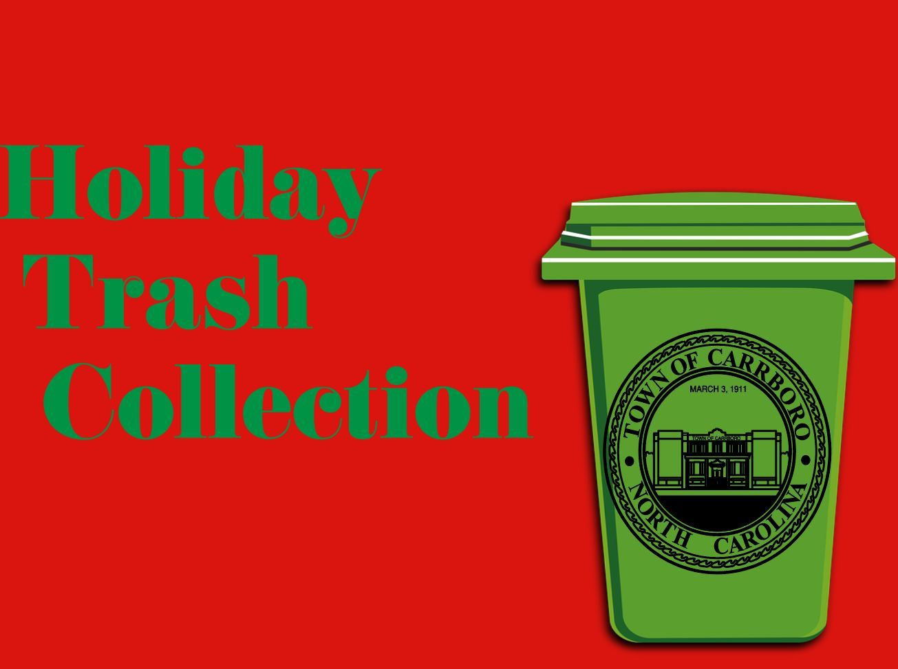 holiday trash collection