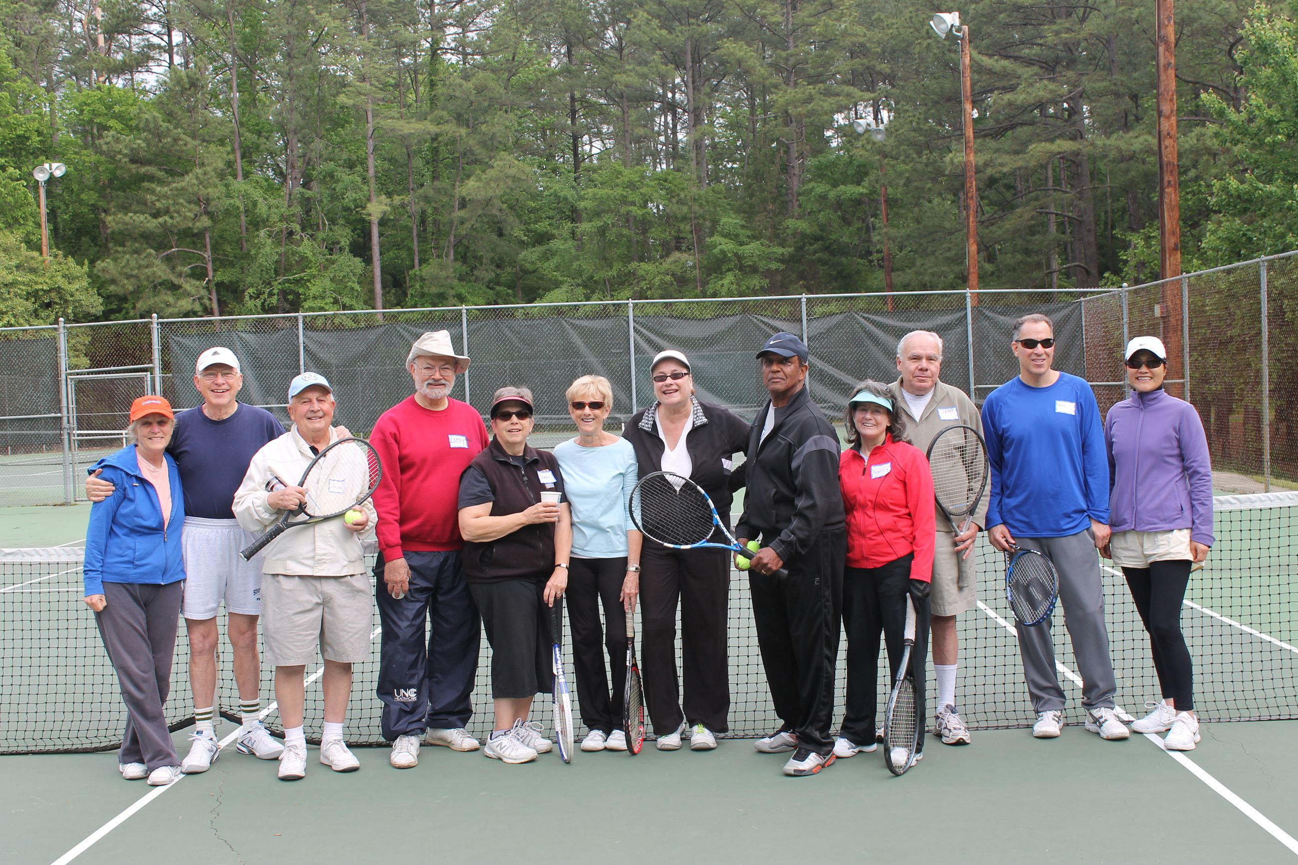 Senior Tennis Day